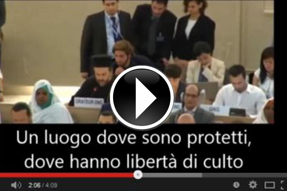 Discorso alle Nazioni Unite