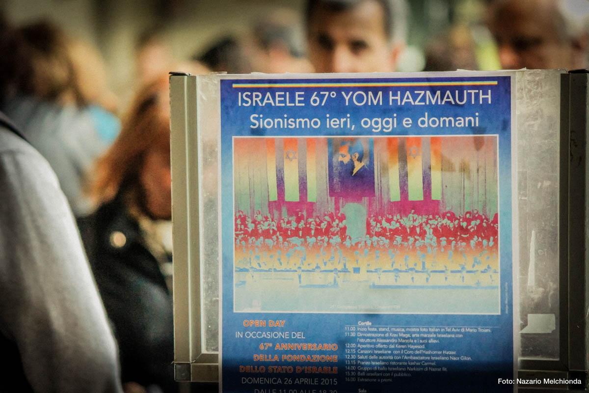 26 Aprile 2015 – 67° festa di Yom Haazmaut a Milano