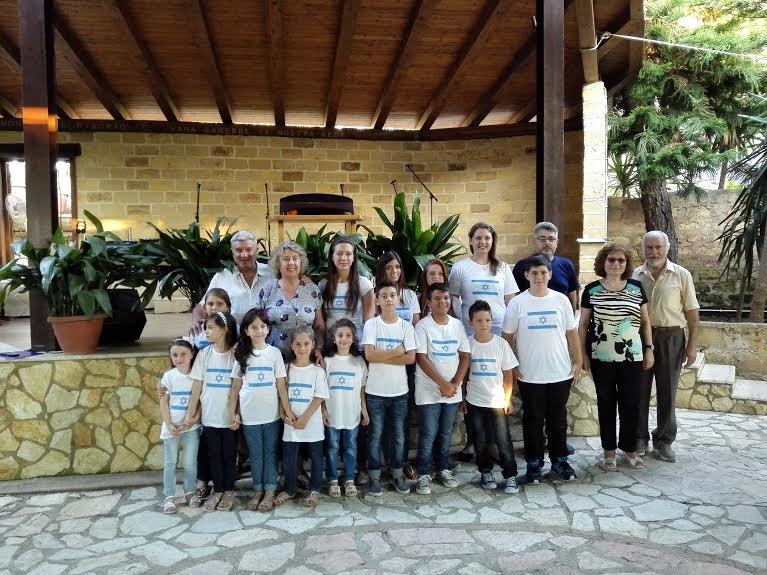 Corale Bambini al Corso di Israelologia a Ficarazzi
