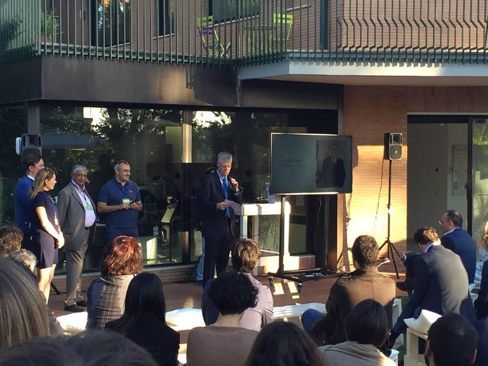 Venezia 26/05/2016 EDIPI all'inaugurazione del Padiglione di Israele alla Biennale di Architettura