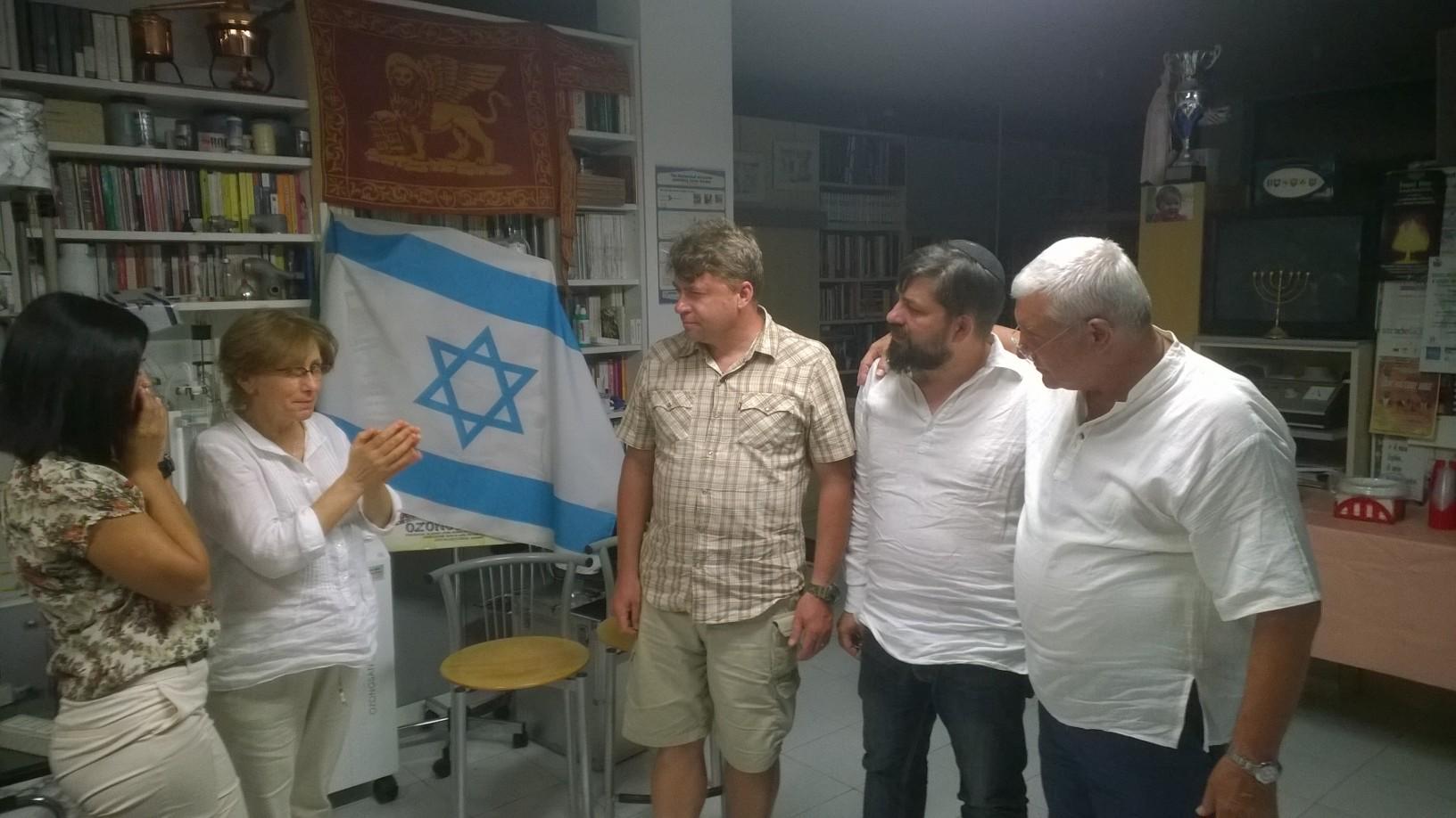 Resoconto dell'incontro con il rabbino messianico di Chişinău Moldova
