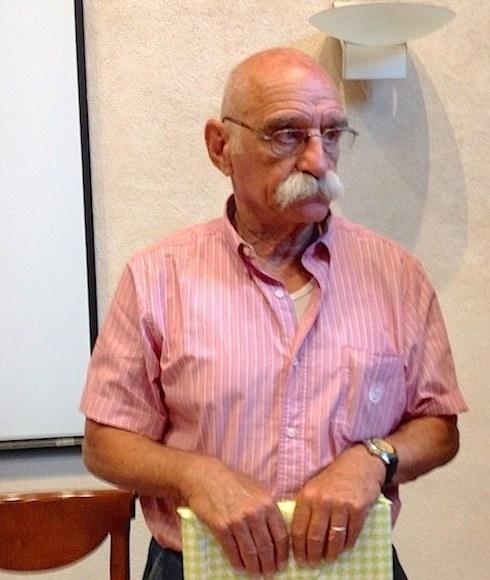 Dan Bahat  a Verona con Associazione talia-Israele