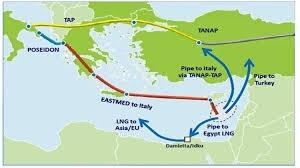 EastMed, il gasdotto che unirà il Mediterraneo da Israele e Cipro alla Puglia