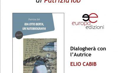 Dialogo con l'autrice Patrizia Iob